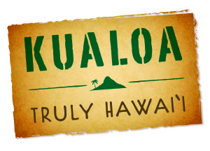 Kualoa truly HI logo